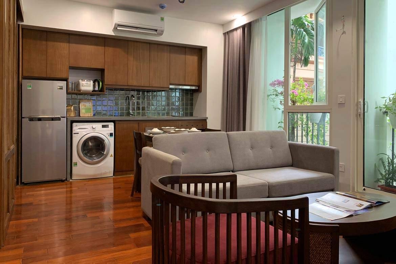 Cho thuê căn hộ dịch vụ Kim Mã