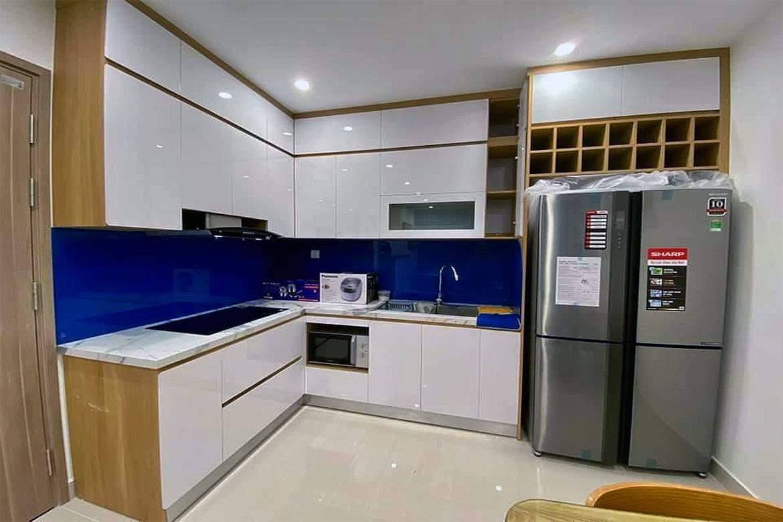 Open layout kitchen - Sharp 556 liter refrigerator